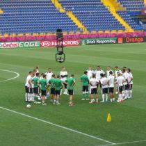 Сборная Германии провела тренировку на стадионе Металлист (ФОТО)