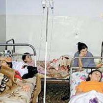 Отравление на свадьбе: гости оказались на больничных койках