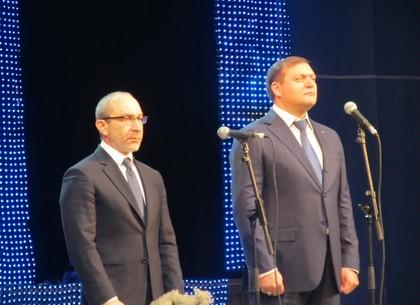 Харьковские регионалы отметили победу на парламентских выборах