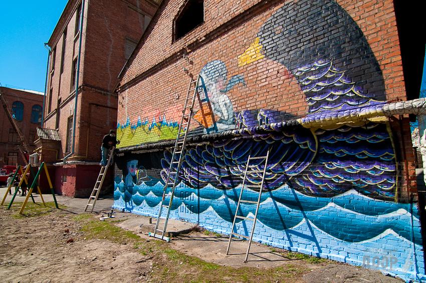 В Харьков пожалуют мастера граффити из разных стран