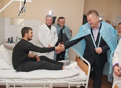 Визит главы МОЗ Украины в Харьковский военный госпиталь