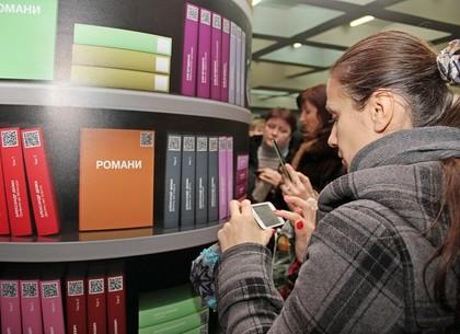 Открытие мобильной библиотеки в метро