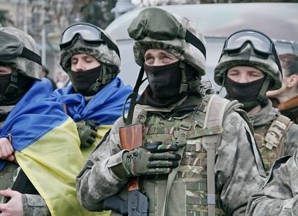 Отправка бойцов «Східного корпусу» в зону АТО