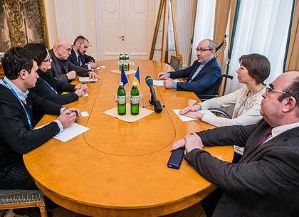Геннадий Кернес - миссии ОБСЕ: Я спокоен за ситуацию в Харькове
