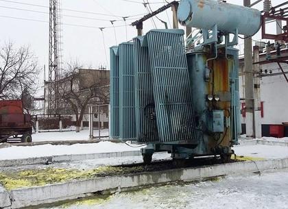 Взрыв на железной дороге под Харьковом