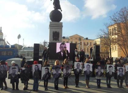 В Харькове прошла панихида по погибшим в АТО бойцам (ФОТО)