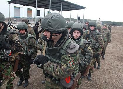 Стрельбы курсантов академии Нацгвардии на полигоне в Башкировке