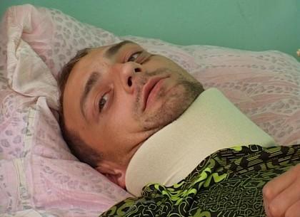 У похищенного сторонника Оппоблока - перелом шеи и сотрясение мозга: милиция завела уголовное дело