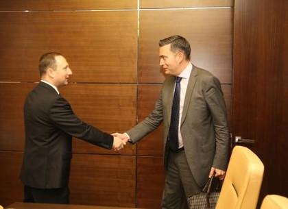 Руководство Харьковщины встретилось с представителями МВФ