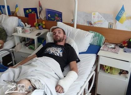 В Харьковском военном госпитале прошло голосование