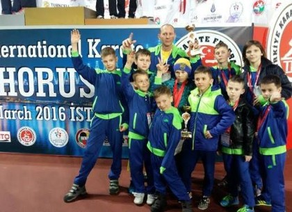 Харьковские каратисты привезли с международного турнира 9 медалей