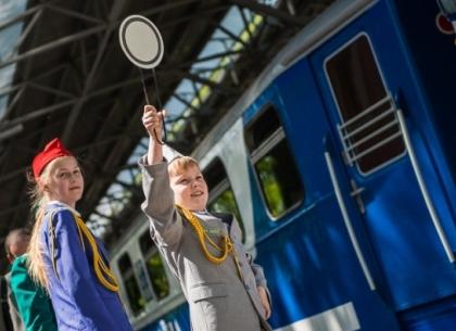 Детская железная дорога открыла новый сезон (ФОТО)