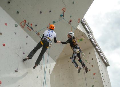 Соревнования за кубок Украины по альпинизму состоялись в Харькове