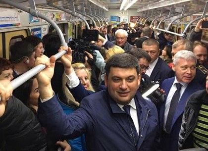 Премьер-министр пообещал государственную помощь в строительстве харьковского метро