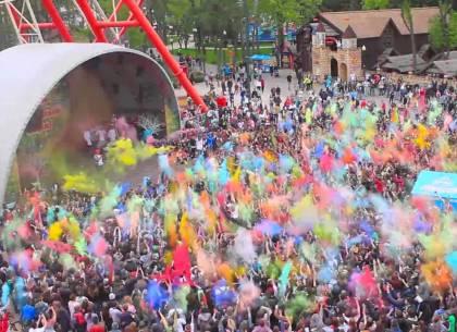 Красочные выходные в парке Горького: программа фестиваля Холи