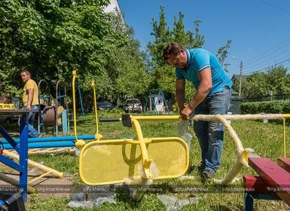 Во дворах ОСМД город установит спортивные и детские площадки