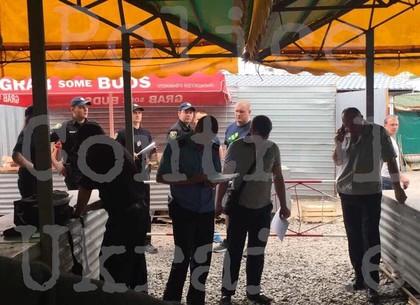 В полиции рассказали о подробностях перестрелки на рынке на Героев Труда (ВИДЕО)