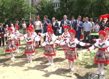 В Слободском районе появился детский городок