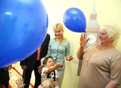 В Богодухове открыли детсад и спортплощадку