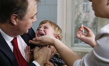 Украина вошла в восьмерку стран с низким уровнем вакцинации детей