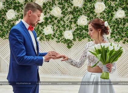 В парке Горького открыли площадку для выездных церемоний бракосочетания