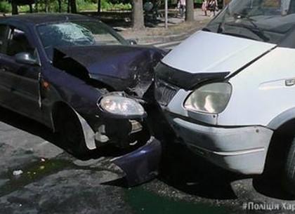 Авария на ХТЗ: есть пострадавшие