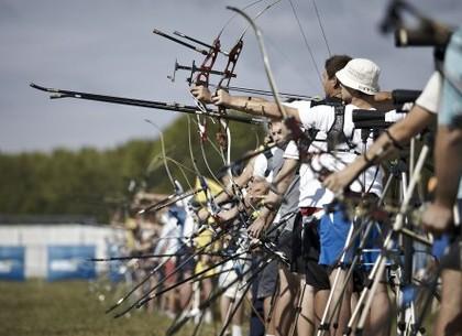 В Харькове проходят соревнования по стрельбе из лука на Кубок городского головы