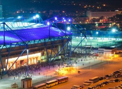 Движение транспорта возле стадиона «Металлист» будет запрещено