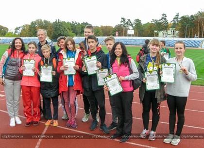 В Харькове выбрали победителей школьной легкоатлетической лиги
