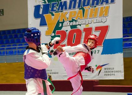 В Харькове состоялся чемпионат Украины по тхэквондо