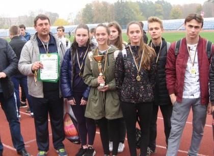 В городе определился победитель Школьной легкоатлетической лиги