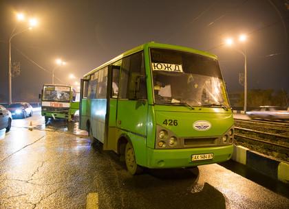 ДТП с маршрутками на Новоивановском мосту. Фоторепортаж