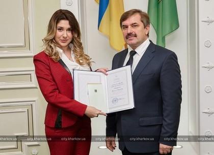 Харьковчанам вручили премии городского совета (ФОТО)
