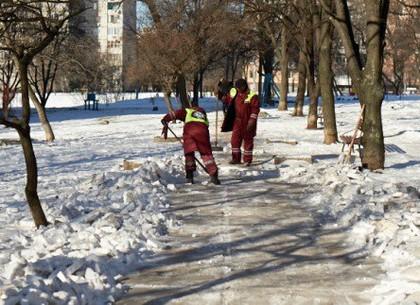 В Индустриальном районе готовы к зиме на 100%