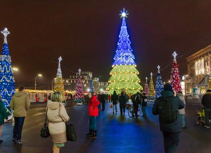 Как Харьков готовится к Новому году