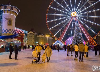 Рождество в парке Горького: программа