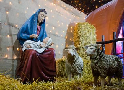 В парке Горького празднуют Рождество