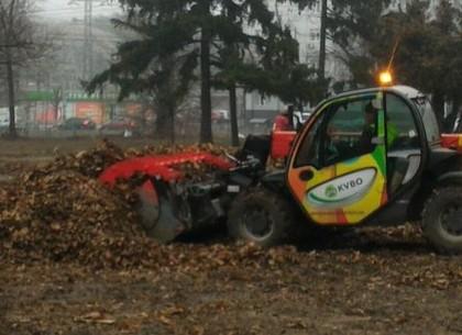 В Харькове проходят зимние субботники