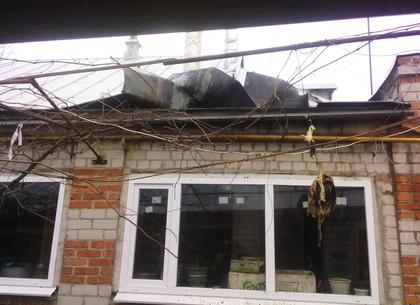 На Харьковщине из-за неисправной печи чуть не сгорел дом