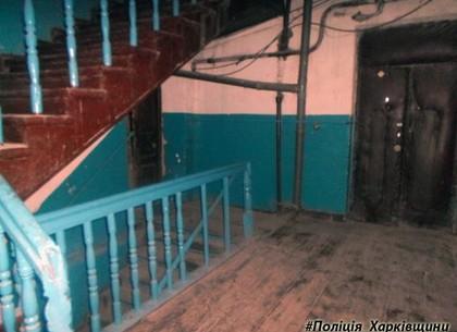 В Харькове грабитель напал на мужчину в подъезде