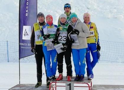 Харьковские паралимпийцы-лыжники стали обладателями Кубка мира