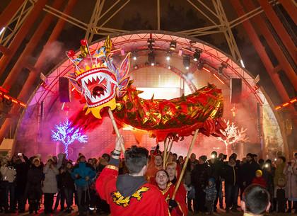 В парке Горького встретили восточный Новый год