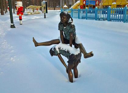 Снежные весенние выходные в парке Горького: программа