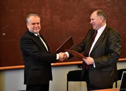 Харьковский вуз подписал договор с научным центром