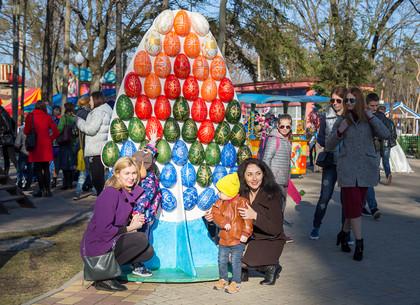 Фольклорный праздник «Пасхальні візерунки» в парке Горького