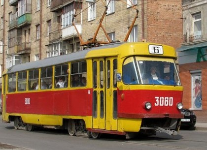 Трамваи №5, 6, 8 и 27 временно изменят маршруты
