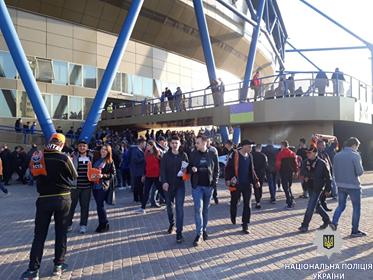 Футбольный матч «Шахтер» - «Динамо» прошел без грубых нарушений общественного порядка