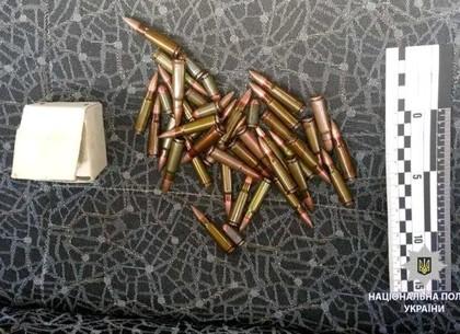 На Харьковщине полицейские обнаружили в автомобиле патроны (ФОТО)