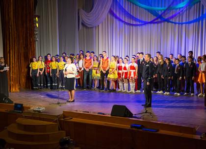 В Харькове состоялся фестиваль юных пожарных