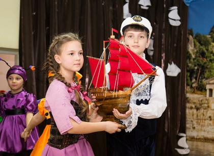 В Харькове дети поставили спектакль «Алые паруса»